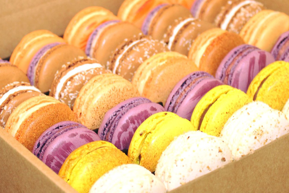 Selection de macarons